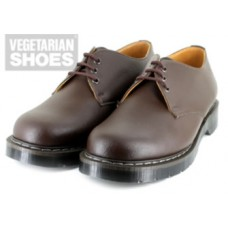 Vegetarian Shoes Brown Airseal 3-Eye Gibson (men's)