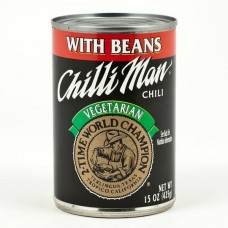 Chilli Man High-Protein Vegetarian (Vegan) Chili (24g protein)