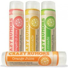Crazy Rumors Organic Lip Balm (20 flavors) - 15% OFF!
