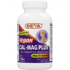 Deva Nutrition Vegan Calcium-Magnesium Plus - 10% OFF!