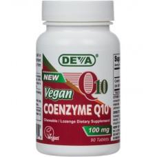 Deva Nutrition High-Potency Vegan Coenzyme Q10 100 mg (Lozenge) - 10% OFF!