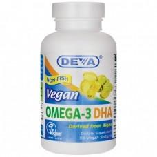Deva Nutrition Vegan Omega-3 DHA Softgels - 10% OFF!