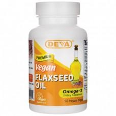 Deva Nutrition Organic Vegan Flaxseed Oil Capsules - 10% OFF!
