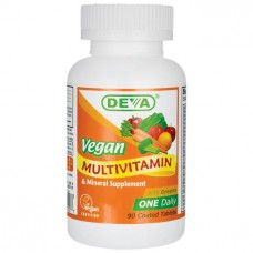 Deva Nutrition Vegan Multivitamin & Mineral with Greens  - 10% OFF!