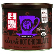 Equal Exchange Fair Trade Organic Dark Hot Chocolate Mix