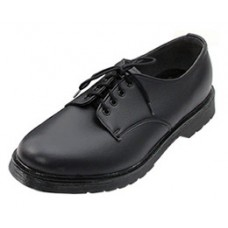 Ethical Wares Classic Black Tie Shoe (men's)
