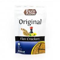 Foods Alive Organic Golden Flax Crackers (4 oz. bag)