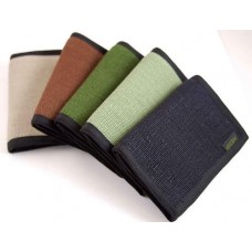 Hempmania Trifold Hemp Wallet (7 colors)