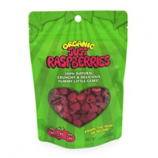 Karen's Naturals ORGANIC Just Raspberries (raw freeze-dried)