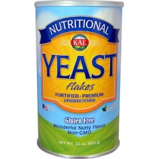 KAL Nutritional Yeast Flakes Vegetarian Support Formula (large 22-oz.)