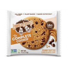 Lenny & Larry's Complete Cookie Peanut Butter Chocolate Chip (4 oz.)  BEST BY AUG. 15, 2020 - 40% OFF!