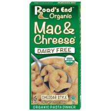 Road's End Organic Cheddar Style Mac & Chreese (healthy whole wheat mac & cheese)