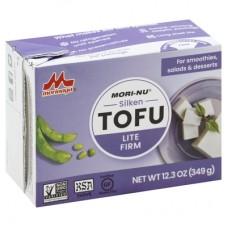Mori-Nu Lite Firm Silken Tofu (shelf-stable) - high protein, zero carbs, 30 calories