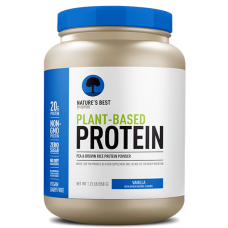 Nature's Best Plant-Based Protein Powder Vanilla - 1.23 lb. (20 Servings) - 15% OFF!