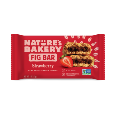 Nature's Bakery Whole Wheat Strawberry-Fig Bars Twin Pack BEST BY JUNE 6, 2020 - 40% OFF!