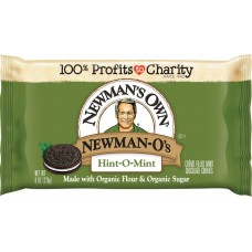 Newman-O's Creme Filled Hint-O-Mint Chocolate Sandwich Cookies