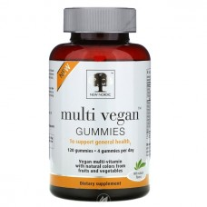 New Nordic Multi Vegan Gummies - Fruit Flavors - 120 count
