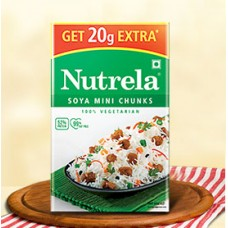 Nutrela Soya Mini Chunks Meat Substitute (7.8 oz.)