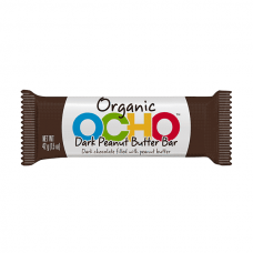 Ocho Organic Candy Bar - Dark Chocolate Peanut Butter - 10% OFF!