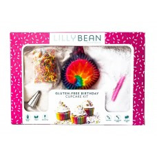 LillyBean Gluten-Free Birthday Cupcake Kit by Pastry Base (makes 12 cupcakes) - 15% OFF!
