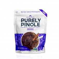 Native State Foods Purely Pinole Aztec Purple Maize Power Breakfast
