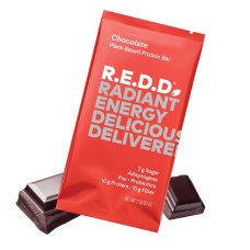 R.E.D.D. Bar - Protein - Energy - Fiber - Probiotics - Low Sugar (3 REDD flavor options)