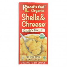 Road's End Organic Cheddar Style Shells & Chreese (mac & cheese) - TEMPORARILY OUT OF STOCK