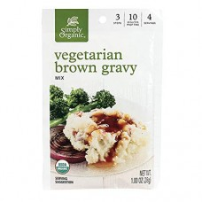 Simply Organic Vegetarian (Vegan) Brown Gravy Mix