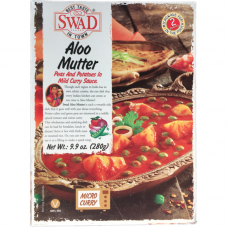 SWAD Aloo Mutter Indian Pea/Potato Entree (all-natural, shelf stable)