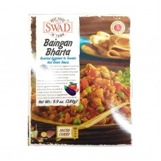 SWAD Baingan Bharta Indian Eggplant Entree (all-natural, shelf stable)
