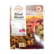 SWAD Bhindi Masala Indian Okra Entree (all-natural, shelf stable)