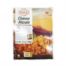 SWAD Channa Masala Indian Chickpea Entree (all-natural, shelf stable)