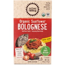 Sunflower Family Organic Sunflower Bolognese (4 servings)