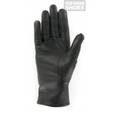Vegetarian Shoes Black Gloves (men's & women's)