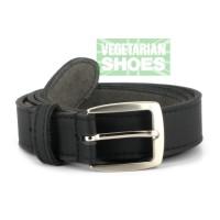Vegetarian Shoes Black Town Belt