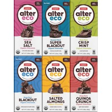 Alter Eco Organic Fair Trade Vegan Dark Chocolate Bar