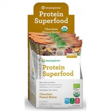 Amazing Grass Organic Protein Superfood Chocolate Peanut Butter (43g packet) - TEMPORARILY OUT OF STOCK