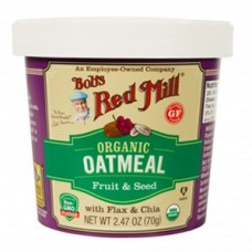 Bob's Gluten-Free Organic Oatmeal Cup - Fruit & Seed BEST BY NOV. 21, 2020 - SOLD OUT