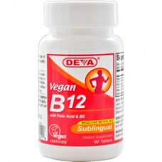 Deva Nutrition Vegan Vitamin B12 Sublingual 1000 mcg - 10% OFF!