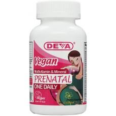Deva Nutrition Vegan Prenatal Multivitamin & Mineral - 10% OFF!