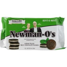 Newman-O's Creme Filled Mint Chocolate Cookies BEST BY DEC. 31, 2019 - 40% OFF!