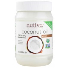 Nutiva Organic Virgin Coconut Oil BEST BY SEPT. 21, 2020 - 50% OFF!
