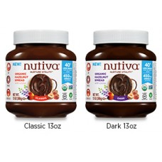Nutiva Organic Hazelnut Spread with Cocoa (2 varieties) - 10% OFF!