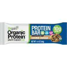 Orgain Organic Protein Plant-Based Bar Chocolate Chip Cookie Dough