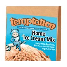 Temptation Vegan Home & Commercial Ice Cream Mix (vanilla or chocolate)