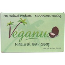 Veganu Natural Bar Soap (4.5 oz.) - Read Description - 30% OFF